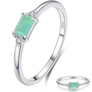 925 Sterling Silver Turqouise Tourmaline R…